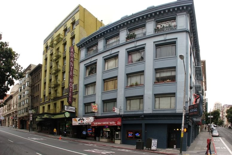 Our Hotel in San Francisco - two nights - click on image for high resolution Panorama