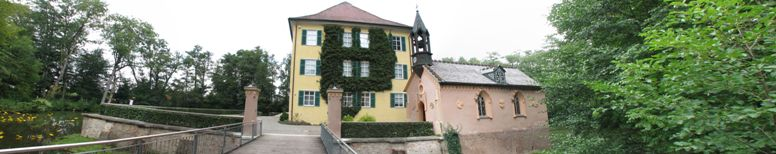 Sissi Castle at Unterwittelsbach (Germany) - click on image for high resolution Panorama